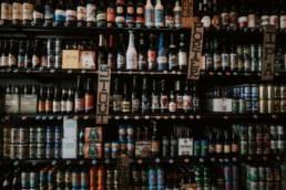 stocker bières artisanales en bouteille